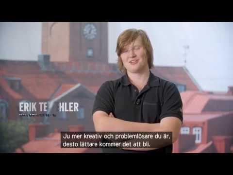 Bli Plåtslagare - Erik - Stolt Trygg Fri