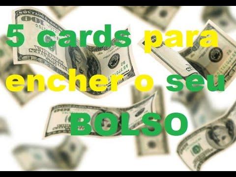 5 Cards para encher o seu bol$o!