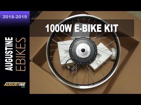 REVIEW. Powerful 48V, 1000w E-Bike Conversion Kit