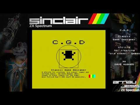 C.G.D (Classic Game Designer) en Zx Spectrum