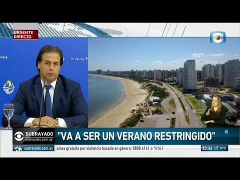 Uruguay mantendrá las fronteras cerradas durante el verano austral