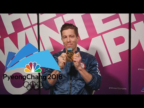 connectYoutube - Shaun White reacts to fans watching him win halfpipe gold