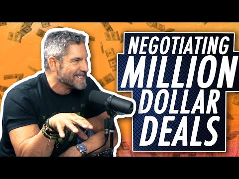 Negotiating Million Dollar Deals - Grant Cardone photo