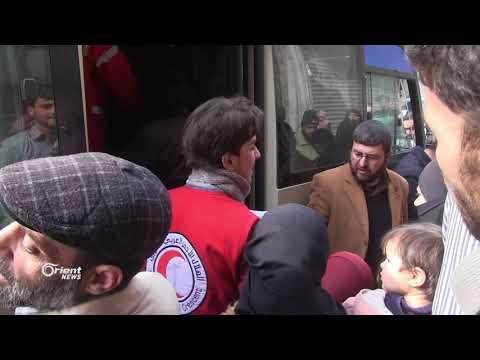 إجلاء 25 حالة مرضية من الغوطة الشرقية بإتجاه مشافي دمشق للعلاج