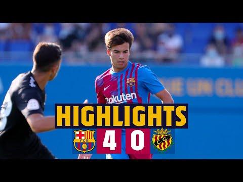HIGHLIGHTS    Barça 4 - 0 Gimnàstic Tarragona
