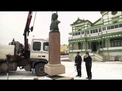 Kungälv - Kung Oscar II lämnar Marstrand för restaurering