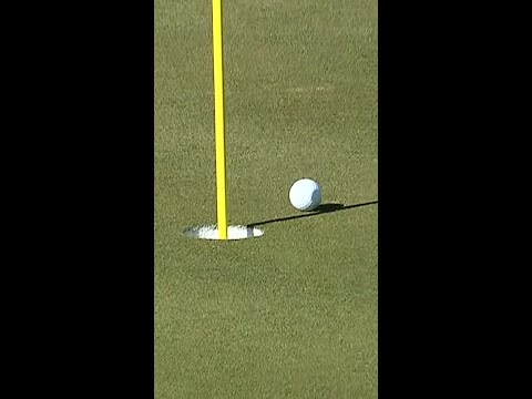 DJ was THIS close to an albatross 😮