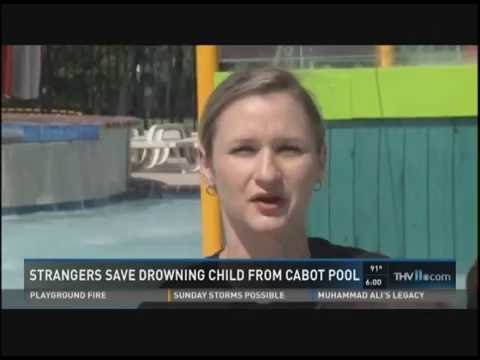 Misty Everett, RN and Aquatic Staff Perform CPR to Save Young Boy