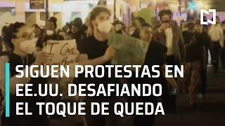Siguen las protestas por la muerte de George Floyd - En Punto