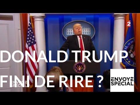 nouvel ordre mondial | Envoyé spécial. Donald Trump fini de rire ? 5 octobre 2017 (France 2)