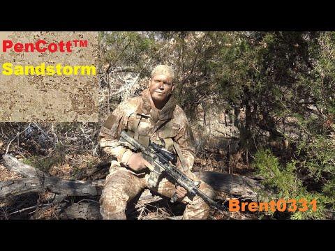 PenCott™  Sandstorm Camouflage Effectiveness