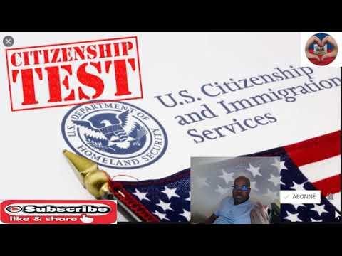 Joe Biden retounen avek ancienne version de test US citizen an. selman 100 kesyon pou etidye