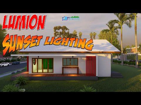 Lumion-sunset-light
