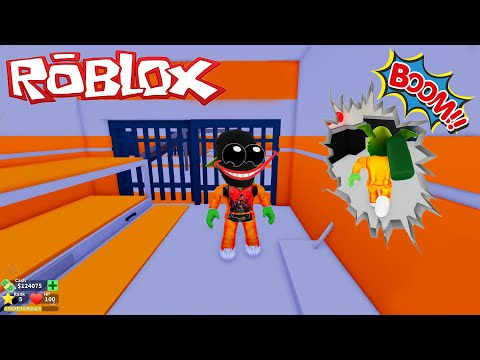 Roblox-แอบหนีออกจากคุกไปปล้นธน