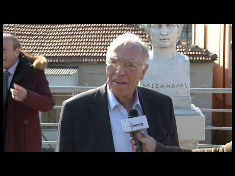 Β. Λεβέντης από την Αμφίπολη :  Προδόθηκε η Μακεδονία (Βεργίνα TV, 25-1-2020)