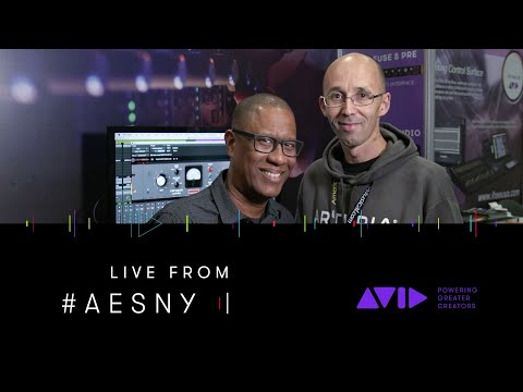 #AVID #AESNY LIVE ⏩ Martin Dutasta from Arturia shows virtual instruments and hardware