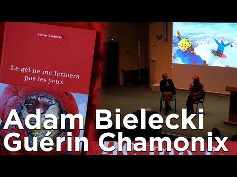 #2 Adam Bielecki Le gel ne me fermera pas les yeux Editions Paulsen Guérin Chamonix littérature