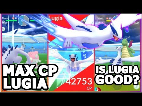 connectYoutube - LUGIA 3529 CP VS GYM IN POKEMON GO | LUGIA UPDATE DISCUSSION