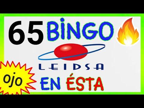 Loteria LEIDSA para HOY (( 65 )) BINGO HOY/ SORTEOS de las LOTERÍAS/ RESULTADOS de las LOTERÍAS HOY