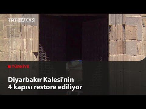 Diyarbakır Kalesi'nin 4 kapısı restore ediliyor