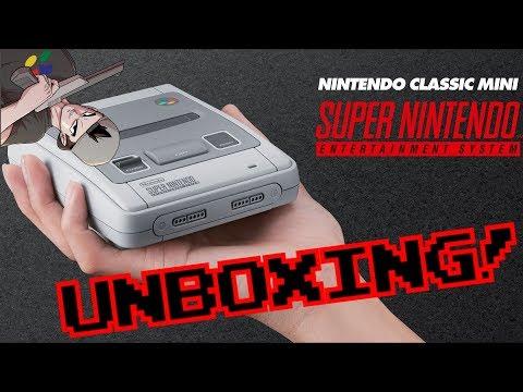 ABRIENDO SNES MINI! || Unboxing con retraso :P