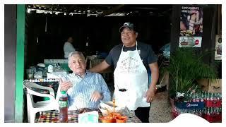 Quem4n birriería donde comió AMLO en Michoacán, dueño estaba feliz