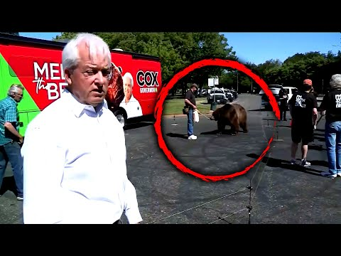 Politician Brings Live Bear to News Conference