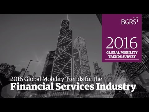 2016 Global Mobility Trends - Financial Services