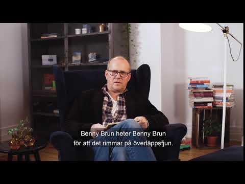 Bäbis - Benny Brun och hans överläppsfjun - Läsglädje 2017