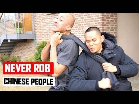 Never Rob the Chinese people   Master Wong ✅