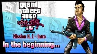 GTA Vice City - iPad Walkthrough - Intro & Mission #1 - In the beginning...