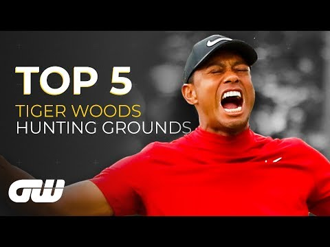 Top 5: Tiger Woods HUNTING GROUNDS | Golfing World