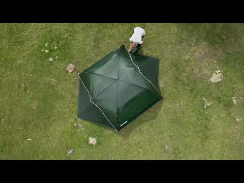 How to set up 6109 Superlight dome 3 Tent