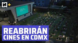 Cines, teatros y museos pueden reabrir en CDMX