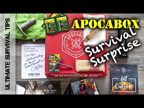 NEW! Is ApocaBox the BEST Survival Gear + Training Subscription Box? - Review - 4 Years Later