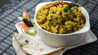 Cluster Beans with Chana dal..
