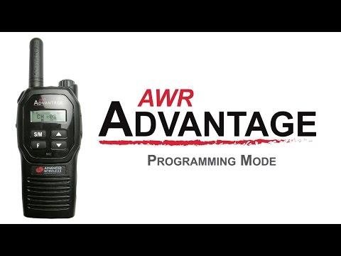 AWR Advantage Programming Mode