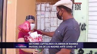 Sectores capitalinos celebran de manera inusual Día de las Madres ante Covid-19