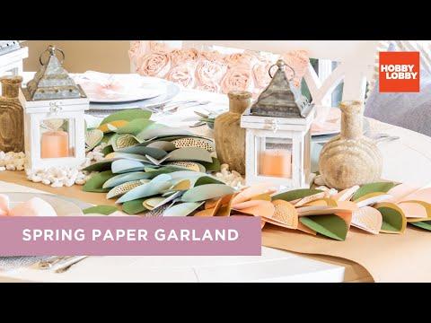 Spring Paper Garland | Hobby Lobby®
