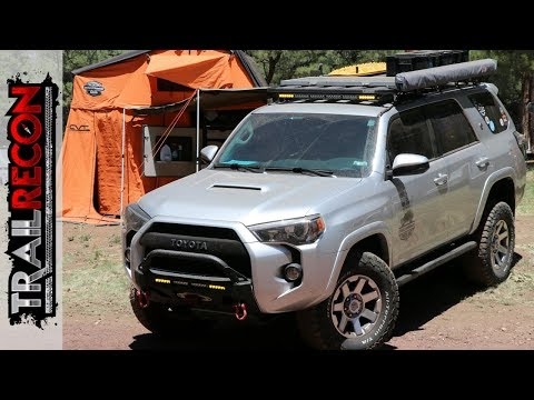 Toyota 4Runner and Turtleback Trailer - Swell Runner