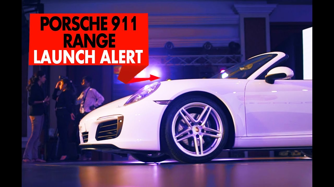 ಪೋರ್ಷೆ 911 range : launch alert : powerdrift