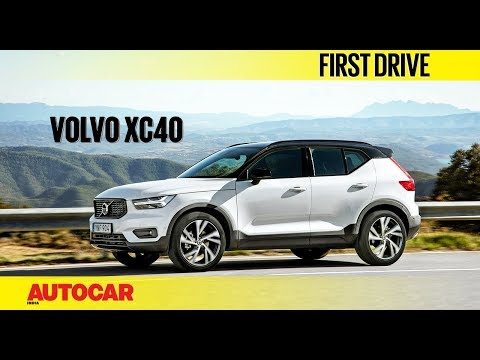 Volvo XC40   First Drive   Autocar India
