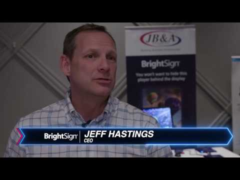 Interview with CEO Jeff Hastings of BrightSign