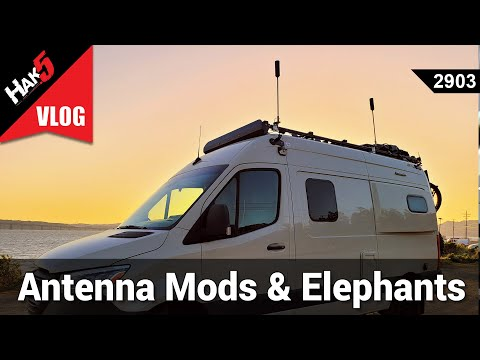 LTE Antenna Mods & Elephant Eating - Hack Across America 2021