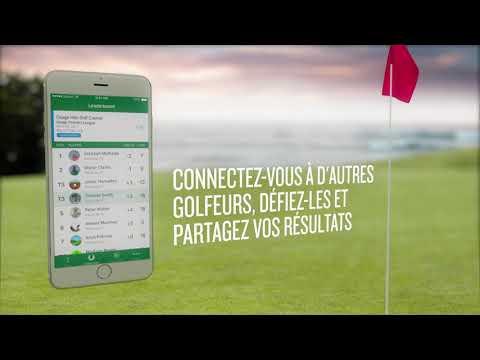 Application Garmin Golf - Mesurez-vous à la concurrence