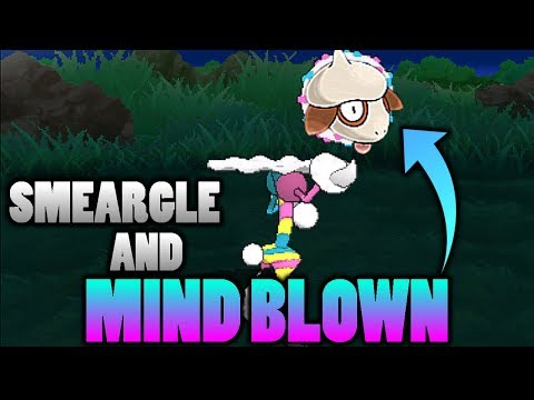 connectYoutube - What Does Smeargle Look Like Using Blacephalon's Mind Blown Attack In Pokemon Ultra Sun and Moon?
