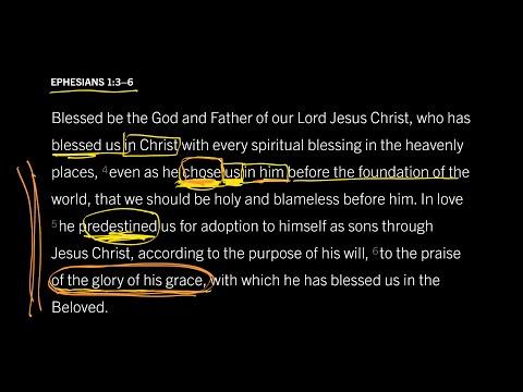 Ephesians 1:3–6 // Part 6 // Was Election Based on Foreknown Faith?