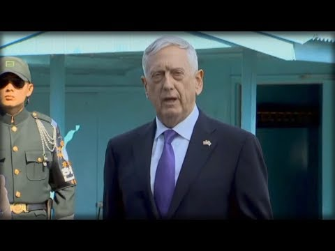 DAY AFTER NORTH KOREA THREATENS TO SHOOT NUKE, MATTIS WALKED UP TO THEIR BORDER AND DID UNTHINKABLE