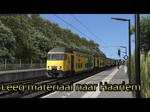 Leeg materiaal naar Haarlem  Train Simulator 2018