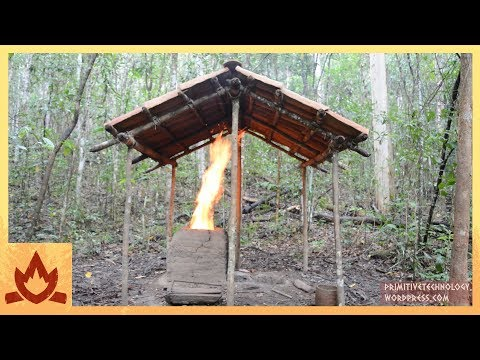 Primitive Technology: Barrel Tiled Shed Poster